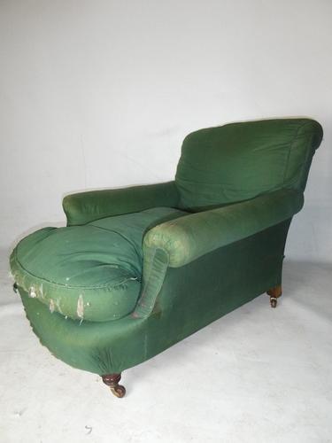 19th Century Howard Style Armchair (1 of 9)