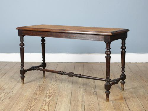 19th Century Cane Bench (1 of 6)