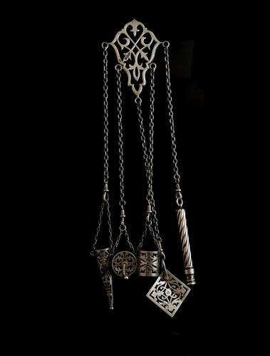 Victorian Sterling Silver Chatelaine (1 of 17)