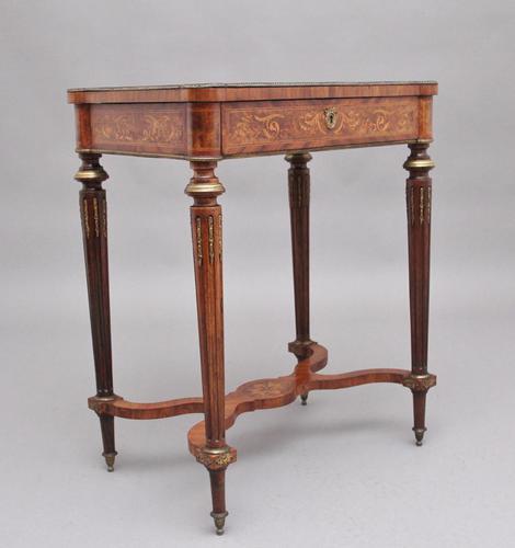 19th Century Inlaid Mahogany Dressing Table (1 of 13)