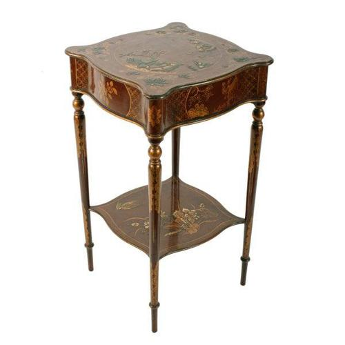 Early 20th Century Chinoiserie Style Table (1 of 8)