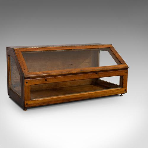 Antique Display Case, Haberdashery, Retail Counter Top Cabinet, Edwardian, 1910 (1 of 11)