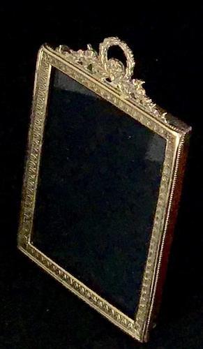 Victorian Brass Oblong Easel Photo Frame (1 of 4)