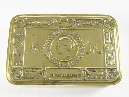 WW1 Princess Mary Christmas Gift Box (1 of 5)