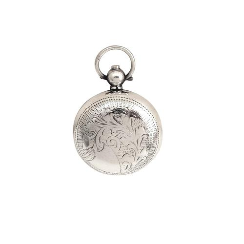 Antique Edwardian Sterling Silver Sovereign Case 1905 (1 of 9)