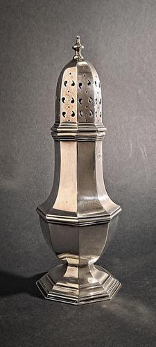 George VI Silver Sugar Caster (1 of 4)