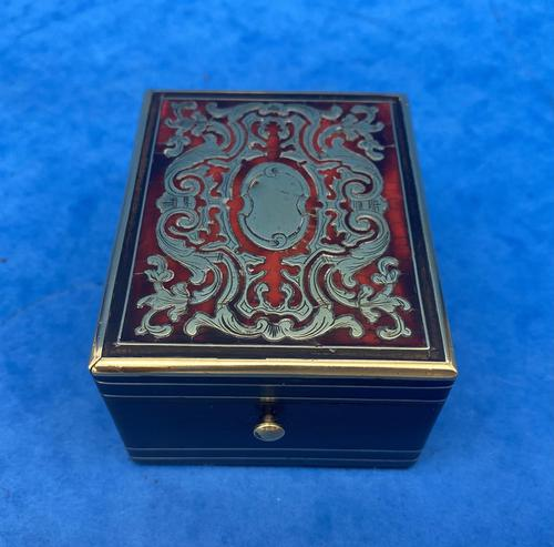 Victorian French Boulle  Watch Box (1 of 14)