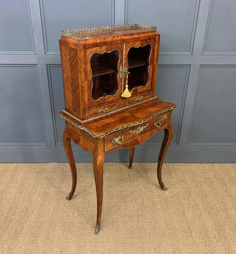 19th Century French Kingwood Bonheur Du Jour (1 of 23)