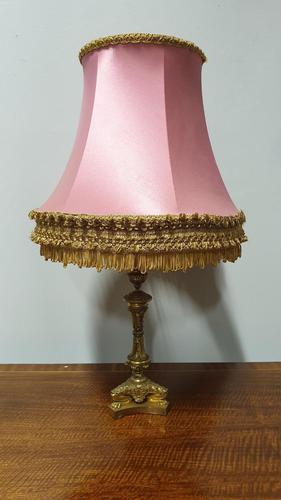Gilt Bronze Table Lamp (1 of 9)
