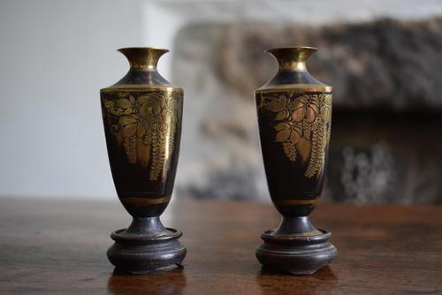Antique Miniature Japanese Vases (1 of 10)