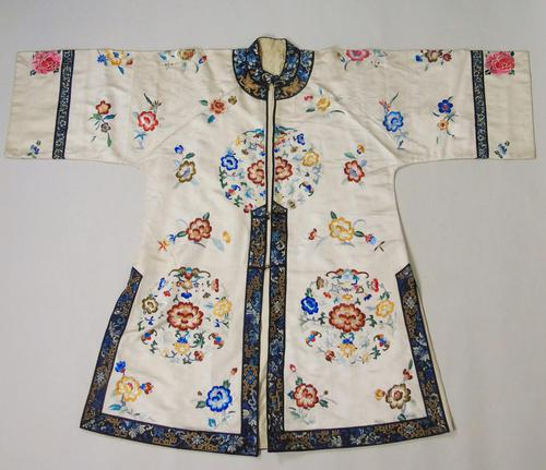Antique Chinese Silk Embroidered Robe (1 of 9)