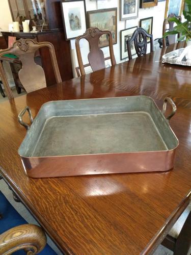 Heavy  Copper Pan (1 of 5)