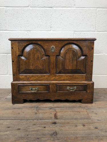 18th Century Style Welsh Oak Coffer (1 of 13)