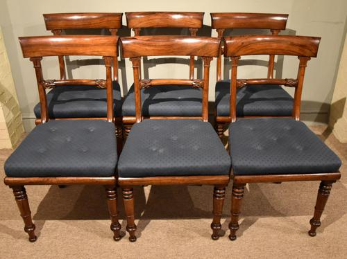 Set of Six William IV Dining Chairs (1 of 7)