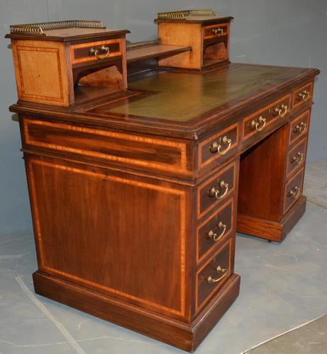 Mahogany Pedestal Desk (1 of 5)