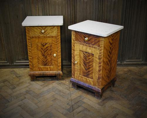Pair Of Painted Bedside Cabinets / Nightstands (1 of 6)