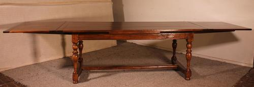 Extendable Table with Turned Legs - 19th Century Netherlands (1 of 10)