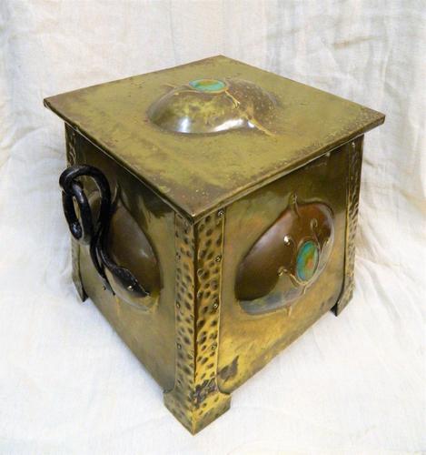 Arts & Crafts Coal Box (1 of 7)