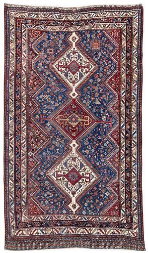 Antique Qashqai Rug (1 of 14)