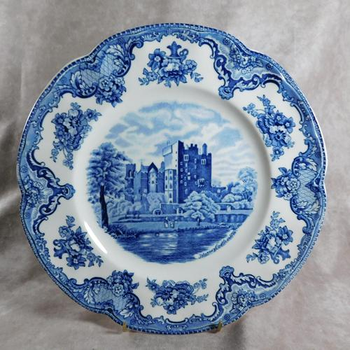 """Johnson Brothers """"Blarney Castle in 1792"""" Ironstone Plate from their Old Britain's Castles"""" Series (1 of 5)"""