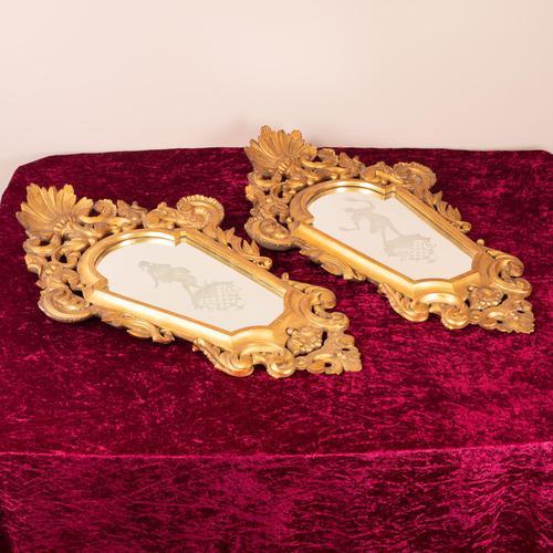 Pair of Venetian Mirrors (1 of 6)