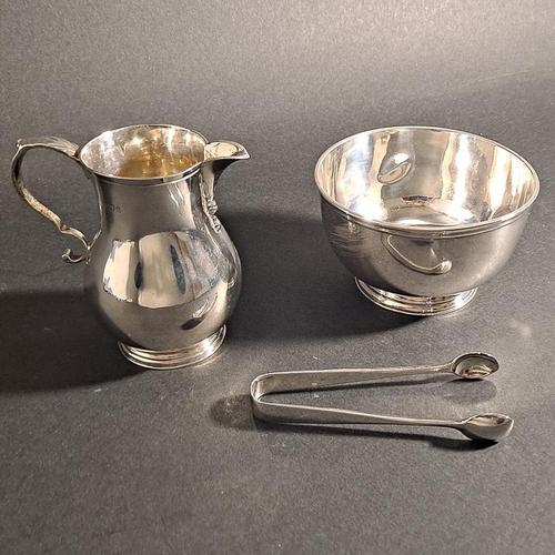 George V Silver Serving Set (1 of 5)