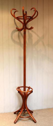 Beech Bentwood Coat & Hat Stand (1 of 9)