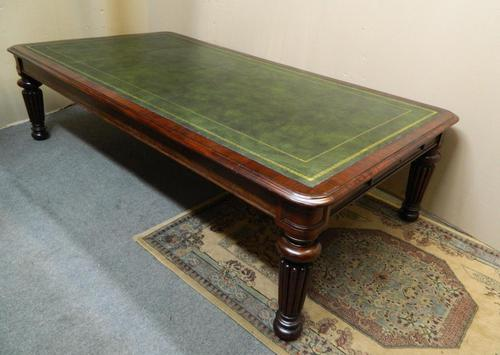very large library table / boardroom table (1 of 8)