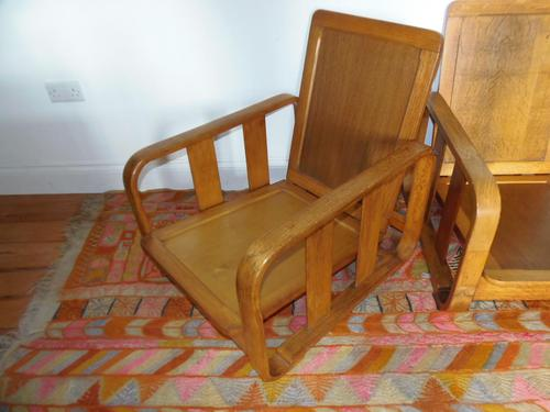 Heals Modernist Armchairs (1 of 2)
