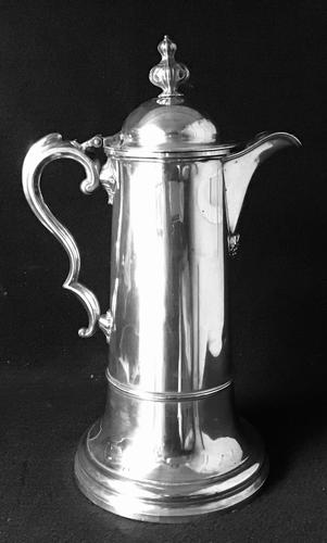 Large Silver Plated Antique Ewer / Jug / Flagon (1 of 8)