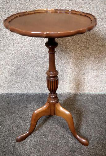 Mahogany Tripod Table / Wine Table (1 of 6)