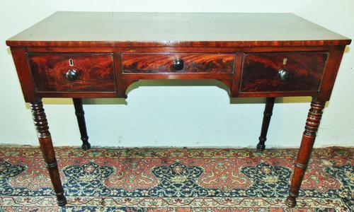 Late Georgian Mahogany Dressing Table (1 of 7)