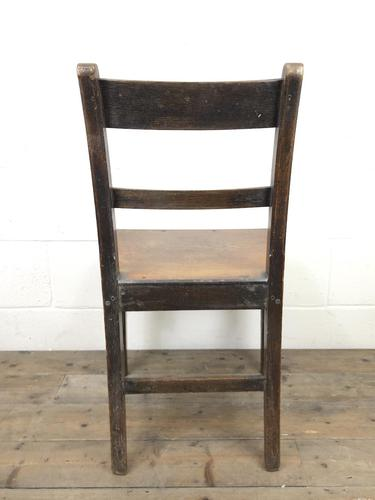 Pair of Welsh Antique Oak Farmhouse Chairs (1 of 11)