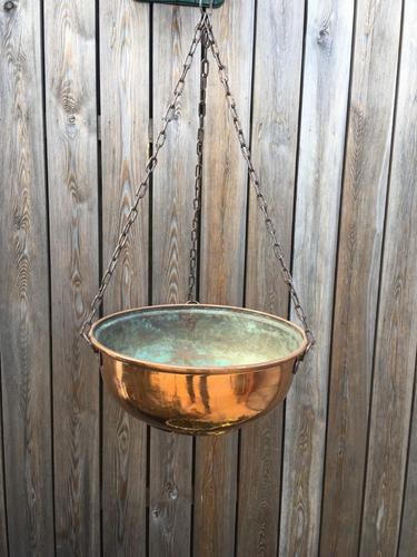 Copper Hanging Planter (1 of 8)