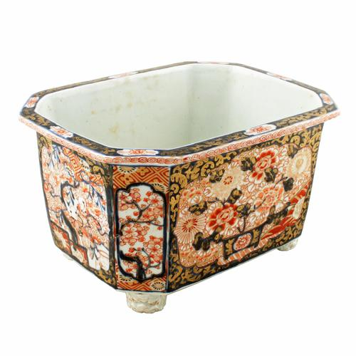 Japanese Imari Porcelain Planter (1 of 8)