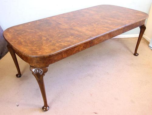 Quality Antique Burr Walnut Dining Table (1 of 14)