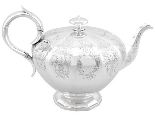 Sterling Silver Teapot - Antique Victorian (1 of 12)