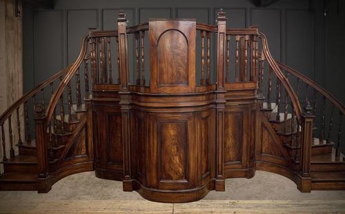 Early Victorian Mahogany Rostrum (1 of 2)