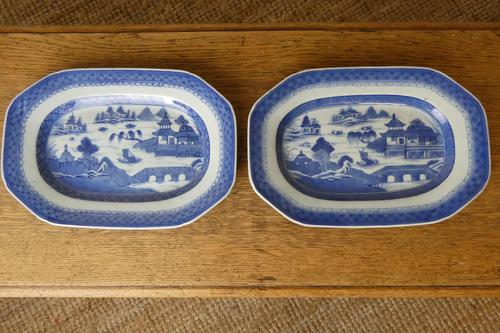 Pair of Chinese Export Plates (1 of 7)