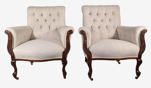 Pair of Armchairs (1 of 6)