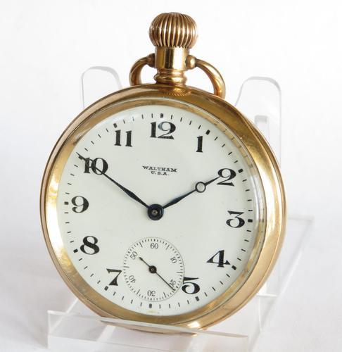 Antique Waltham Pocket Watch - 1918 (1 of 6)