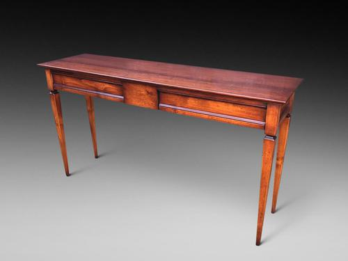 An Elegant Fruitwood Hall Table (1 of 3)