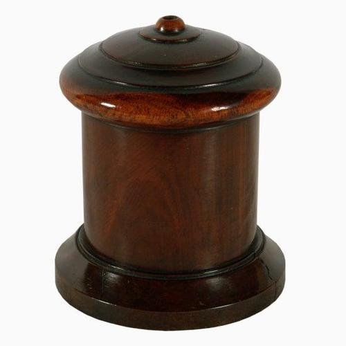 19th Century Treen String Box (1 of 6)