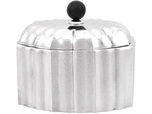 Austrian Silver Tea Caddy c.1955 (1 of 12)