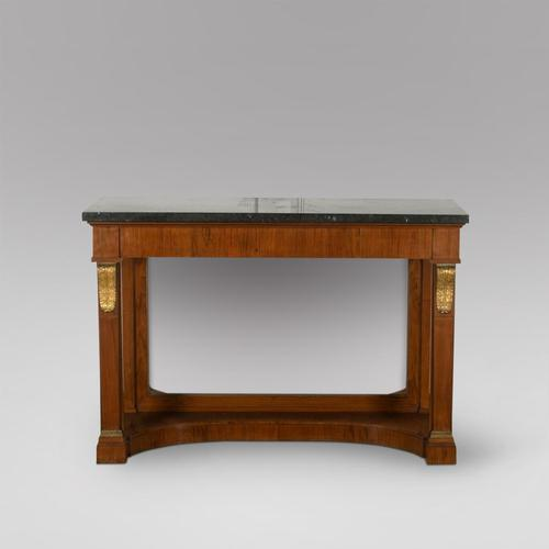 A Granite Topped Console Table (1 of 4)