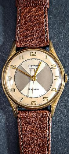 Rotary Maximus 9ct Gold Watch (1 of 5)