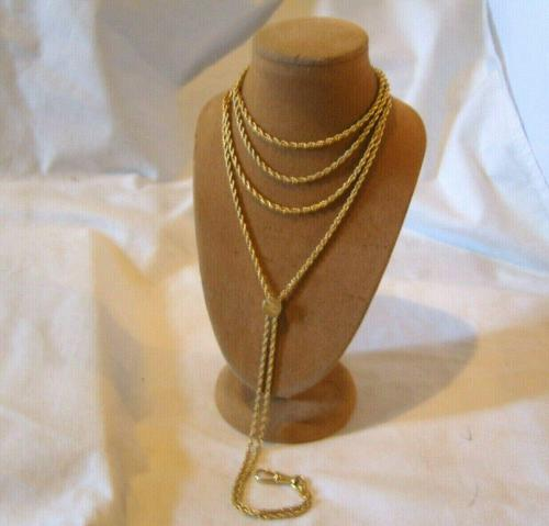 Edwardian Ladies Pocket Watch Guard Chain 1900 Antique 12 Gold Filled (1 of 10)