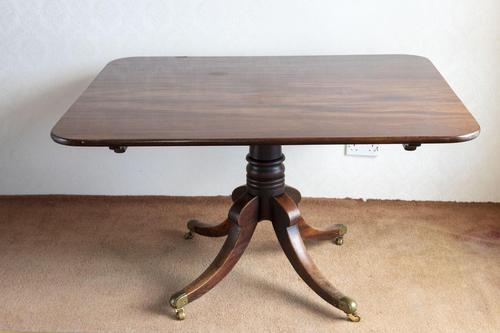 Regency Period Mahogany Breakfast Table with Tip up Action (1 of 6)