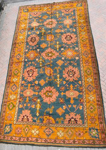 Antique Ushak Kelleh carpet 561x306cm (1 of 2)