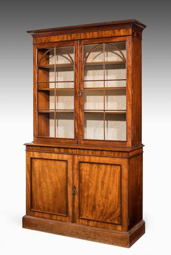 Regency Period Mahogany Bookcase with Gothic Tracery (1 of 6)